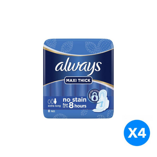 Always Maxi Thick Extra Long 36 count - of 4 Pieces