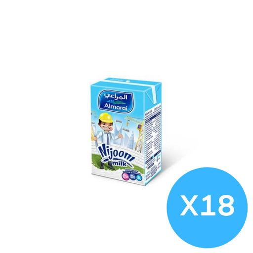 Almarai Nijoom Plain Milk 150 ml x 18 pieces
