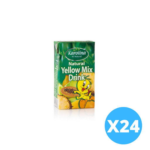 Karolina Yellow mix 125 ml x 24 pieces
