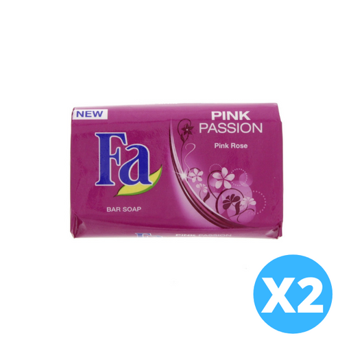 Fa Pink Passion Bar Soap Rose x 2 pieces