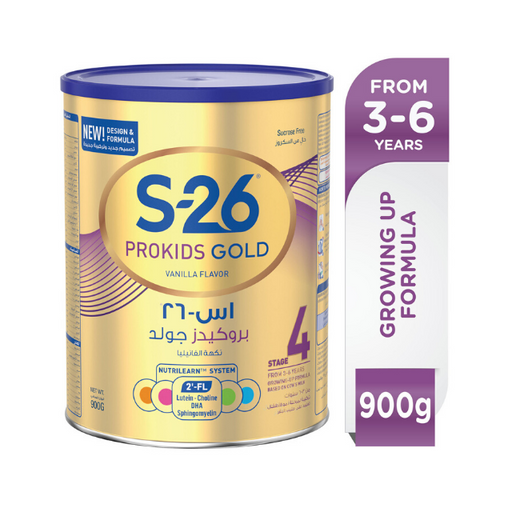 Nestle S26 PROGRESS GOLD Stage 4 Milk Powder 900g - Talabac