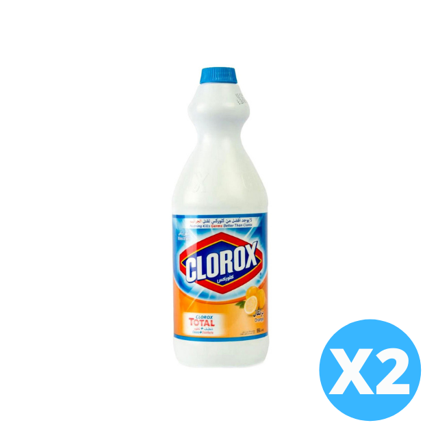 Clorox Original Bleach Orange 2 X 960ml