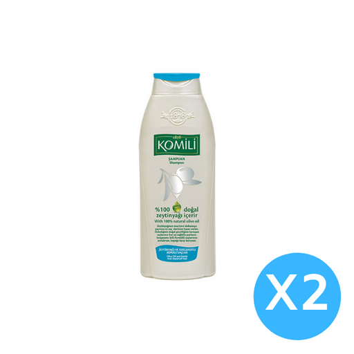 Komili shampoo - for Anti Dandruff-600ml X 2 pcs (Made in Turkey). - Talabac