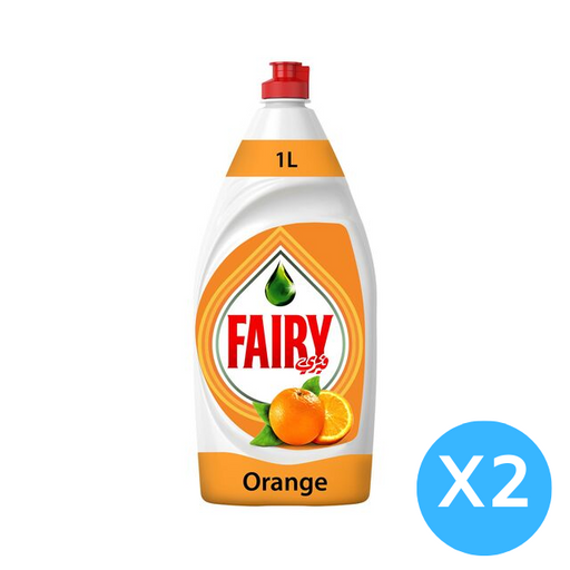 Fairy Dish Washing Liquid Soap 2 X 1L