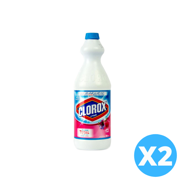 Clorox Original Bleach Floral 2 X 960ml