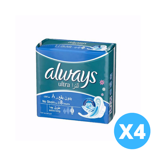 Always Ultra Extra Long 32 count - of 4 Pieces - Talabac