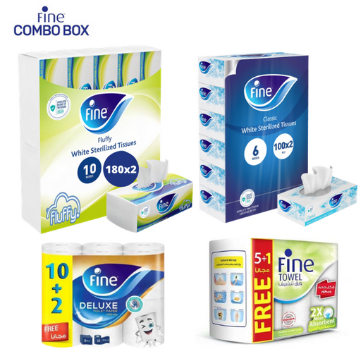 Fine Combo Pack - 4 Items