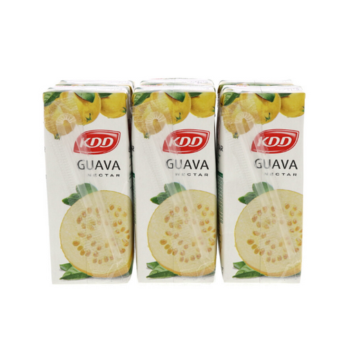 KDD Guava Juice 180ml x 6pcs - Talabac