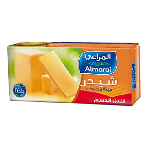 Al Marai Block Cheddar Low-Fat 454 gr.