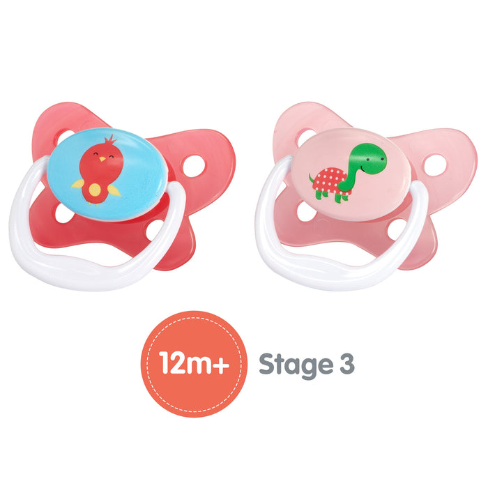 Dr. Browns - 2 Pacifiers Stage 3 - 12 m + - Talabac