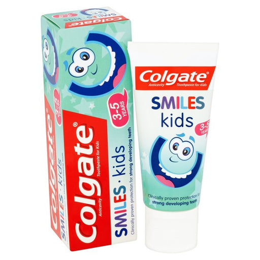 Colgate Smiles Kids 3-5 years Toothpaste 50ml - Talabac