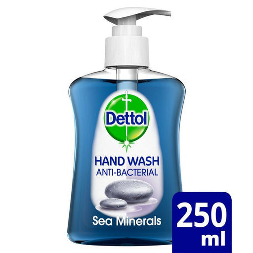 Dettol Sea Minerals Cleanser Handwash 250ml (Made in Britain).