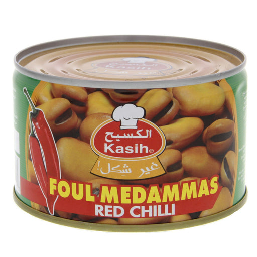 Kasih Canned Foul Medammas - Red chilli 400 gm