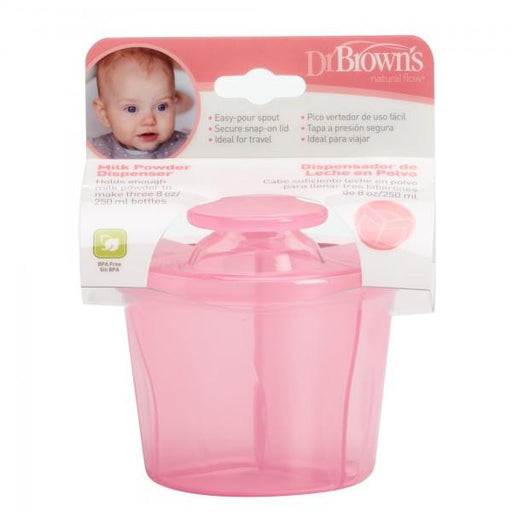 Dr Brown's Milk Powder Dispenser (Pink) - Talabac