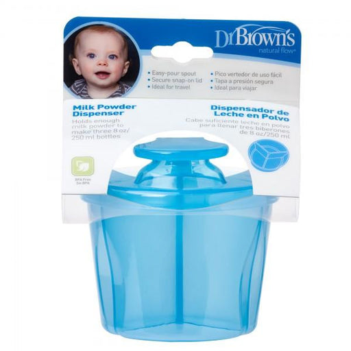 Dr Brown's Milk Powder Dispenser (Blue) - Talabac