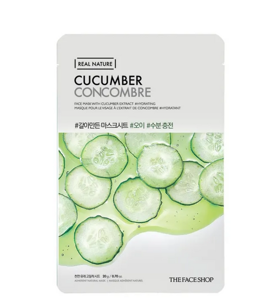 THE FACE SHOP Real Nature Face Mask Cucumber - 1 MASK