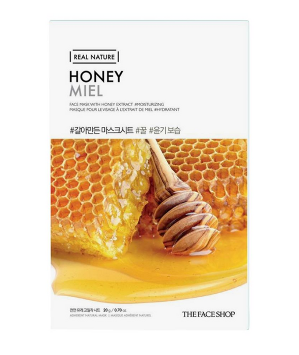 THE FACE SHOP Real Nature Face Mask Honey - 1 Mask