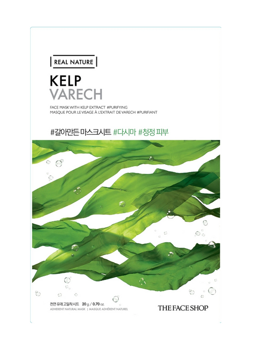 THE FACE SHOP - Real Nature Face Mask Kelp - 1 MASK
