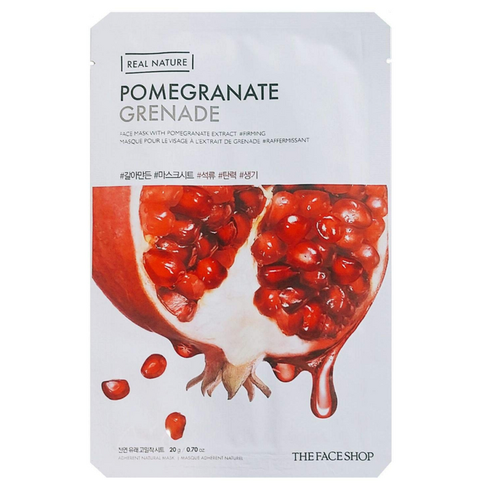 THE FACE SHOP Real Nature Face Mask Pomegranate - 1 MASK