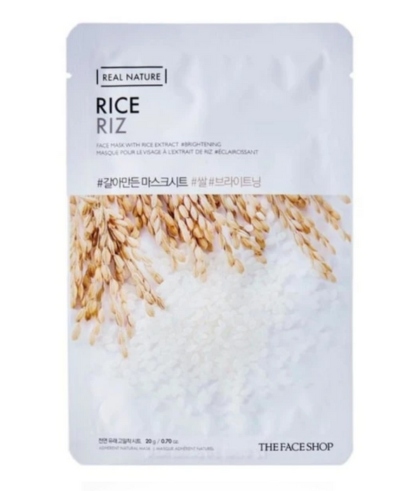 THE FACE SHOP Real Nature Face Mask Rice - 1 MASK