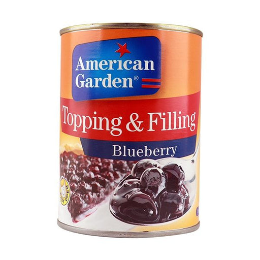 American Garden  TOPPING & FILLING BLUEBERRY - 595 g - Talabac