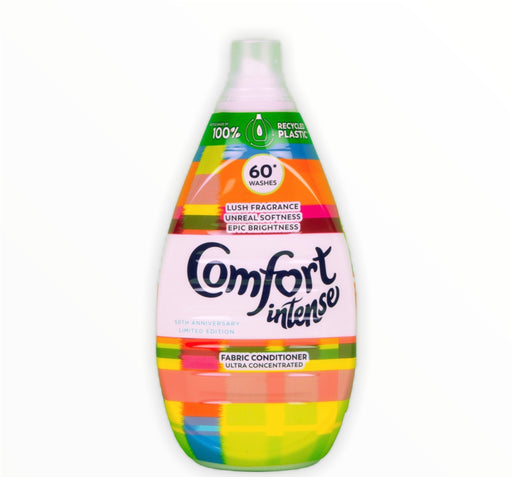 Comfort Fabric Intense 60 Wash Lush Fragrance Concentrated Fabric Conditioner 900ml