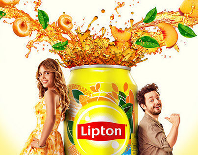 Lipton Ice Tea, Non-carbonated Iced Tea Drink, Peach, 6 x 320 ml - Talabac