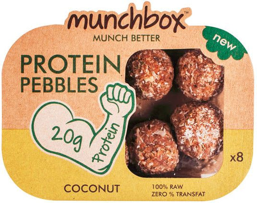 Munchbox Coconut Protein Pebbles Pack - 80 Gms