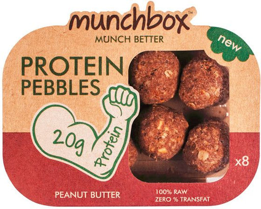 Munchbox Peanut Butter  Protein Pebbles Pack - 80 gms