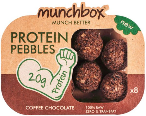 Munchbox Coffee Chocolate Protein Pebbles Pack -  80 Gms