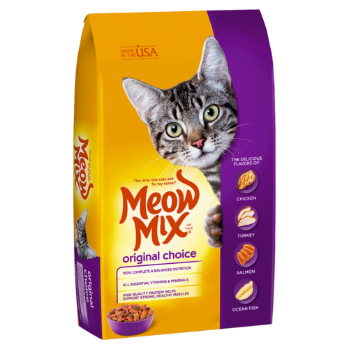 Meow Mix Original Choice Dry Cat Food, 1.36 kg