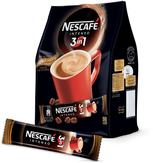 Nescafe 3in1 Intenso Coffee Mix, 30 x 20 gm