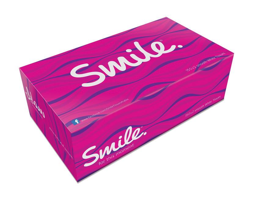 Fine - Smile Facial Tissues - 100 Sheets X 6 - Talabac