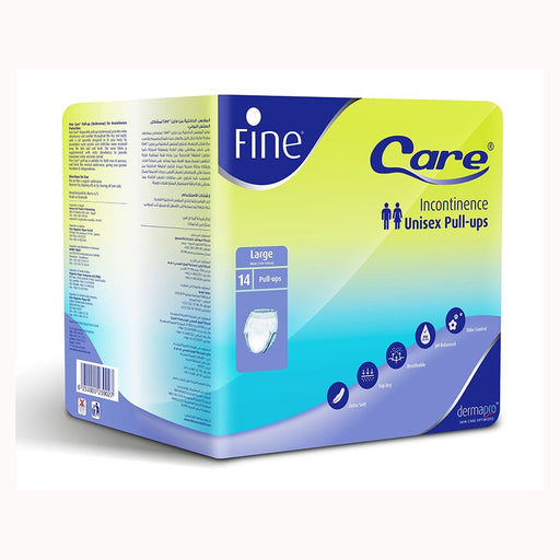 Fine Care Incontinence Unisex Pull-Ups - Large(Waist 100-140CM) - Pack of 14
