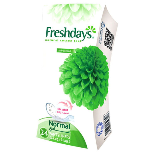Freshdays Daily Liners Normal 24 Pads - Talabac