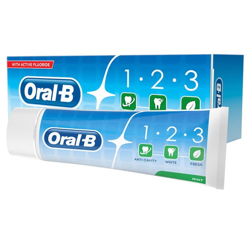 Oral-B Toothpaste 1-2-3 100ml (Made in Britain). - Talabac