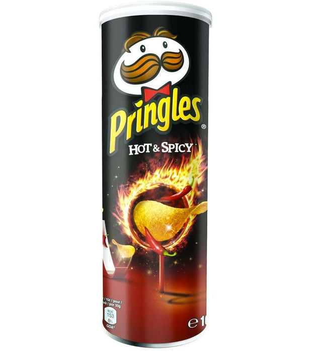 Pringles Hot & Spicy 165 g - Talabac