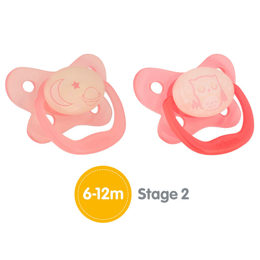 Dr. Browns Pacifier® Contoured Glow-in-the-Dark 6-12 m - Talabac