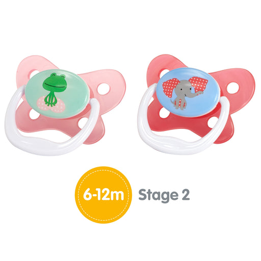 Dr. Browns - 2 Pacifiers Stage 2 - 6-12 m - Talabac