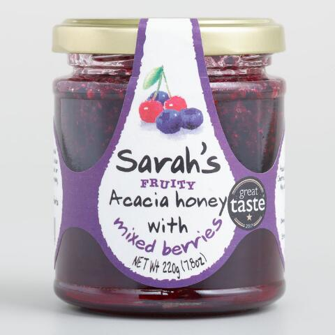 Mileeven Sarah's Fruity Acacia Honey with Mixed Berries  - 250 Gms