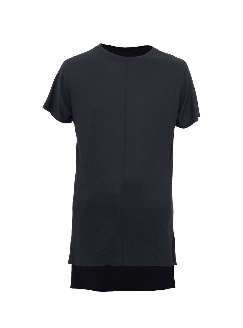 lerro side slit tee schoeller silk/wool/vi blend