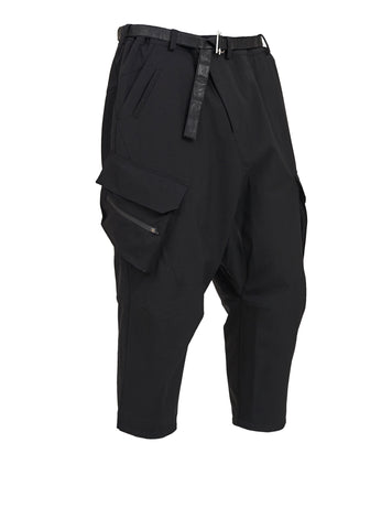 ekialde wide cropped cargo pants