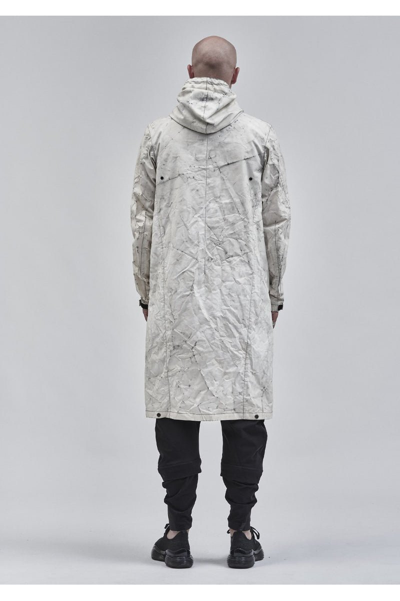 itzala adjustable coat etaproof glacier dye