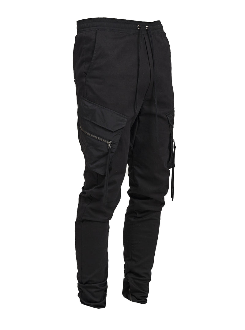 leinu cargo pants black