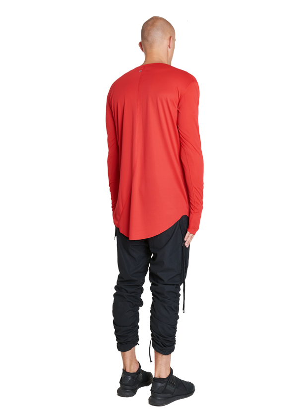 araia technical longsleeve red