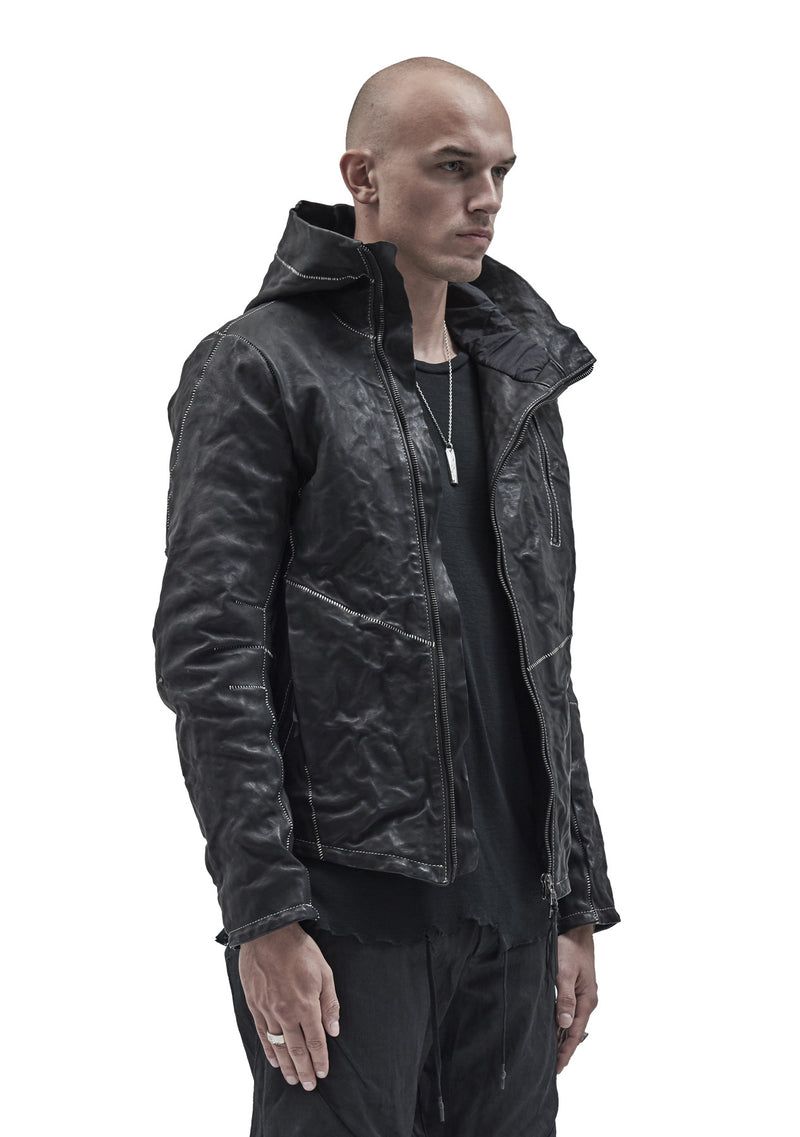 ilargia kangaroo leather jacket