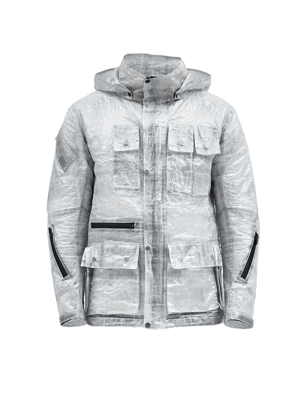 zerain swiss army jacket transparent dyneema