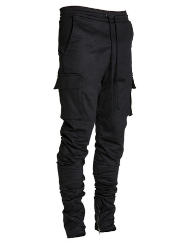lantz cargo pants black