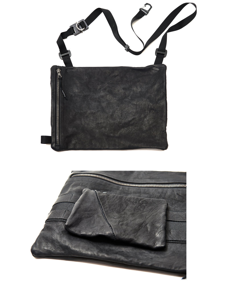 ekarri kangaroo leather shoulder bag