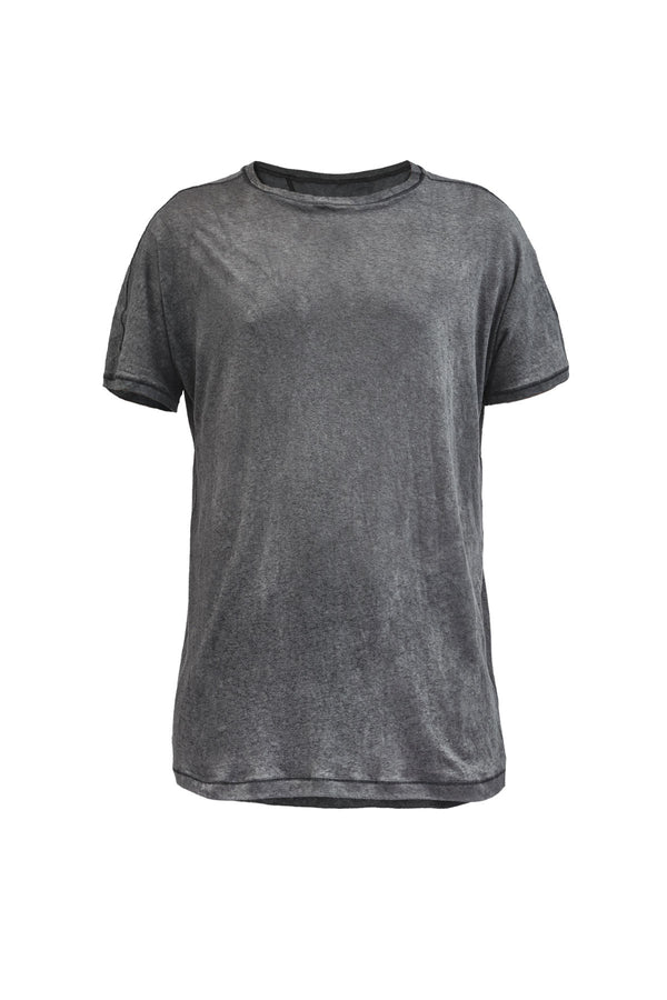 irura tee cold dyed grey